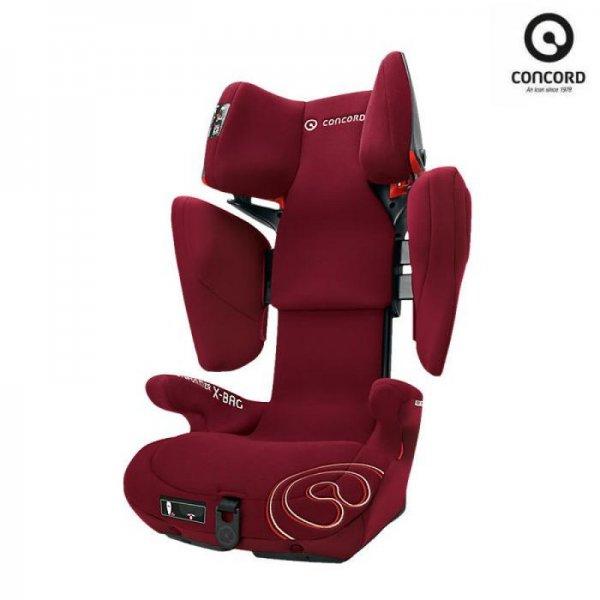 Concord παιδικό κάθισμα αυτοκινίτου Transformer X-BAG Bordeaux red