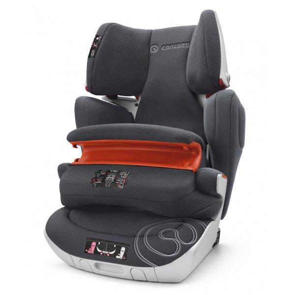Concord Παιδικό Κάθισμα Αυτοκινήτου Transformer XT Pro Midnight black 9-36Kg