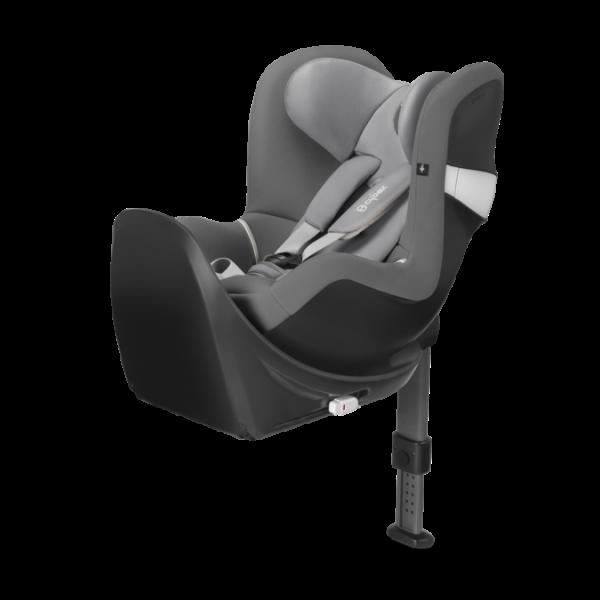 Cybex Sirona M2 i-size κάθισμα αυτοκινήτου με βάση Manhatan Grey Mid