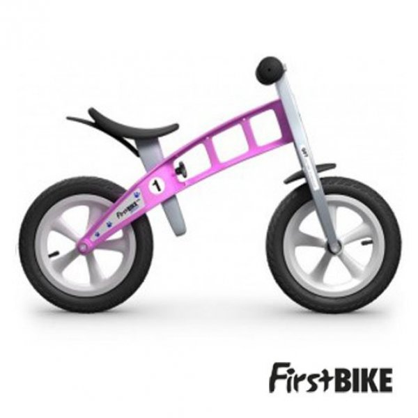 First Bike street  βρεφικό ποδήλατο ισορροπίας pink χωρίς φρένο
