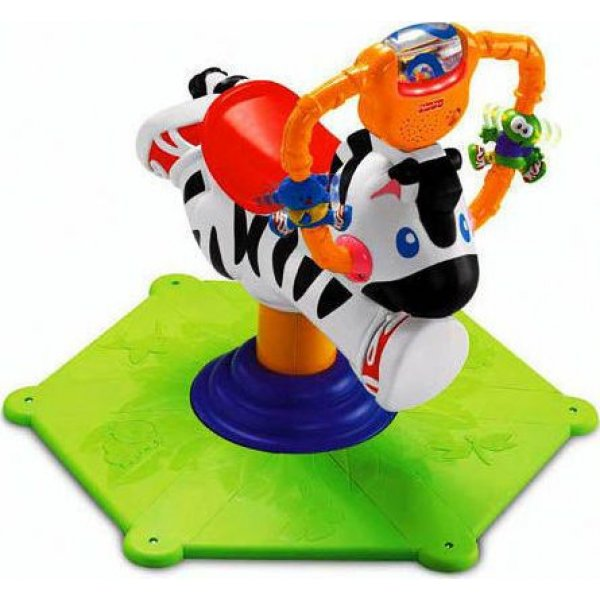 Fisher Price Ζέβρα Ride on Bounce
