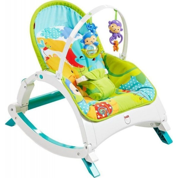 Fisher Price Κούνια Ρηλάξ Rainforest Friends Newborn To Toddler