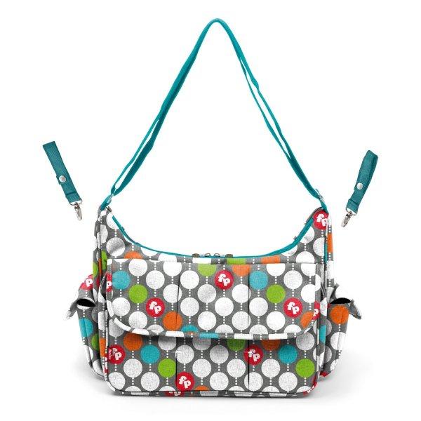 Fisher price τσάντα αλλαξιέρα dots 36x11x29