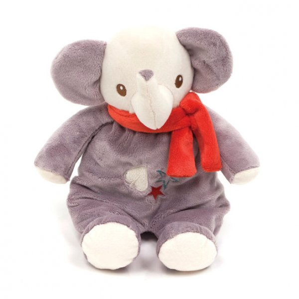 Fisher Price ελεφαντάκι αρκουδάκι κουδουνίστρα 28cm