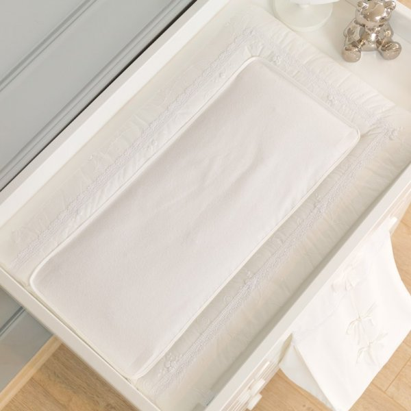 Funna Premium white Αλλαξιέρα με σελτεδάκι 50Χ80 cm