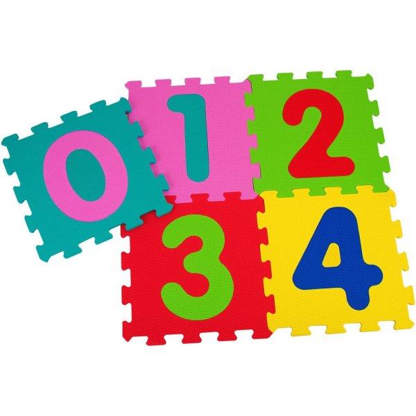 Globo  στρώμα -παζλ με αριθμούς 5 τεμ