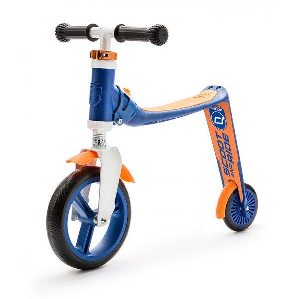 Highwaybaby παιδικό ποδήλατο ισορροπίας πατίνι 2 σε 1 Blue/Orange