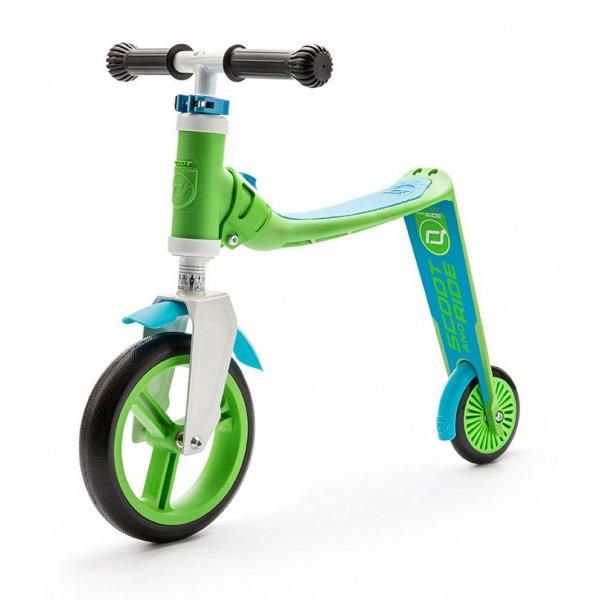 Highwaybaby παιδικό ποδήλατο ισορροπίας πατίνι 2 σε 1 Green/Blue