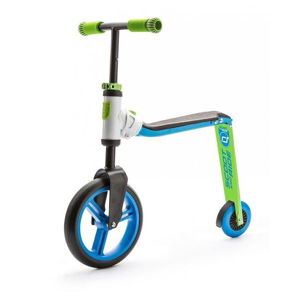 Highwaybuddy παιδικό ποδήλατο ισορροπίας πατίνι 2 σε 1 Blue/Green