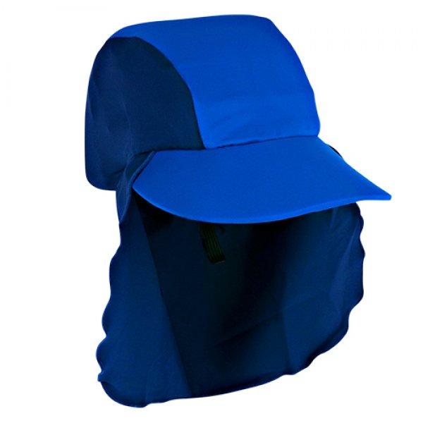 Jakabel παιδικό καπέλο ηλίου royal/navy UV50+ 2-6 ετών