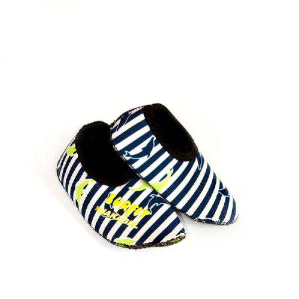 Jakabel swim shoes παπουτσάκια θαλάσσης 1-2 ετών dolphin navy stripes