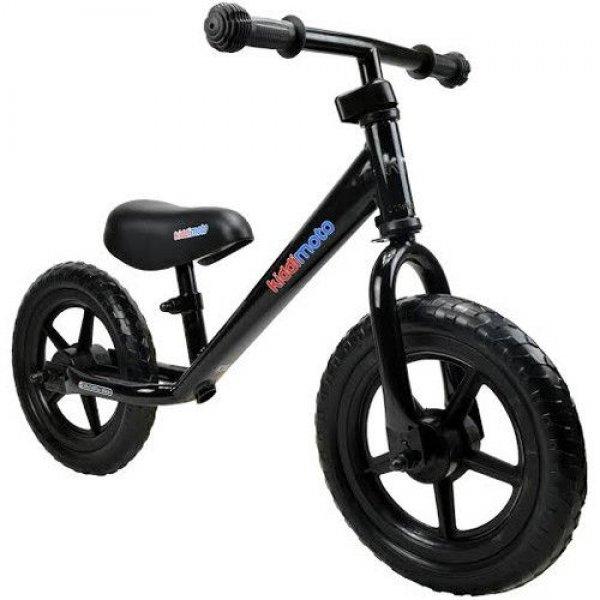 Kiddimoto ποδήλατο ισορροπίας Super Junior Black