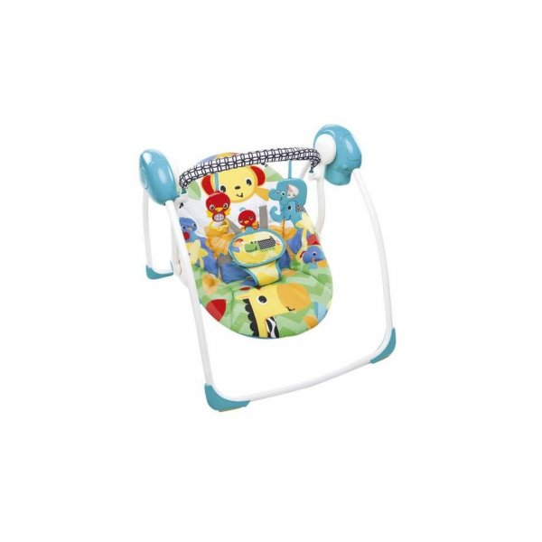 Bright stars KidsII safari smiles portable swing 60403