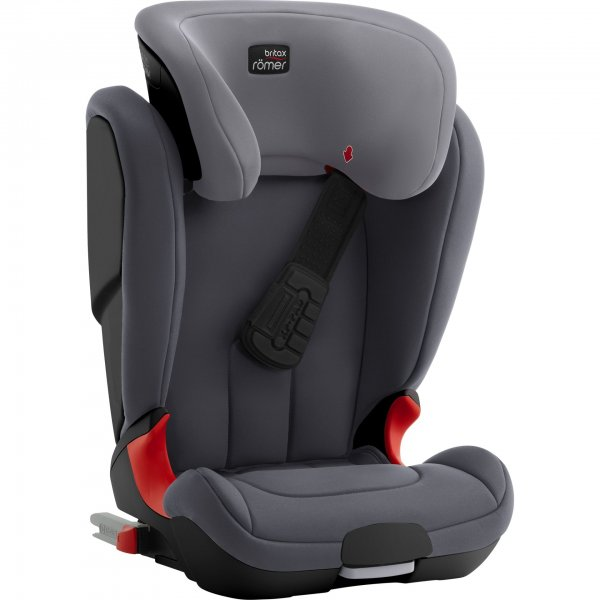 Britax Romer παιδικό κάθισμα 15-36kg Kid fix XP black series Storm grey