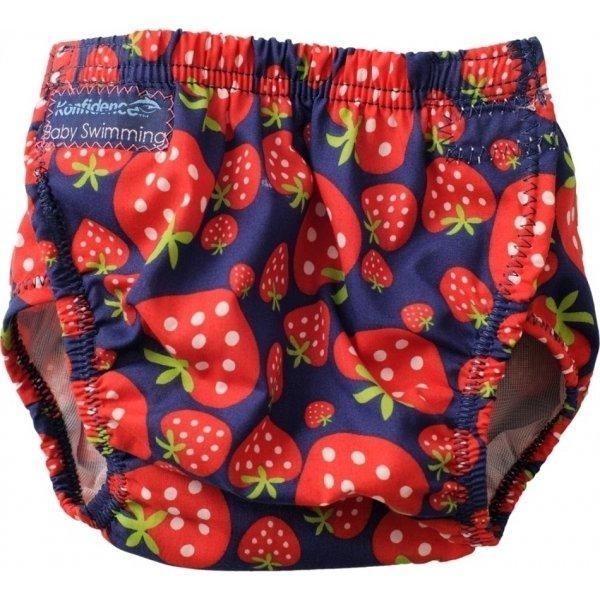 Konfidence πάνα μαγιώ strawberry navy 3-30 μηνών