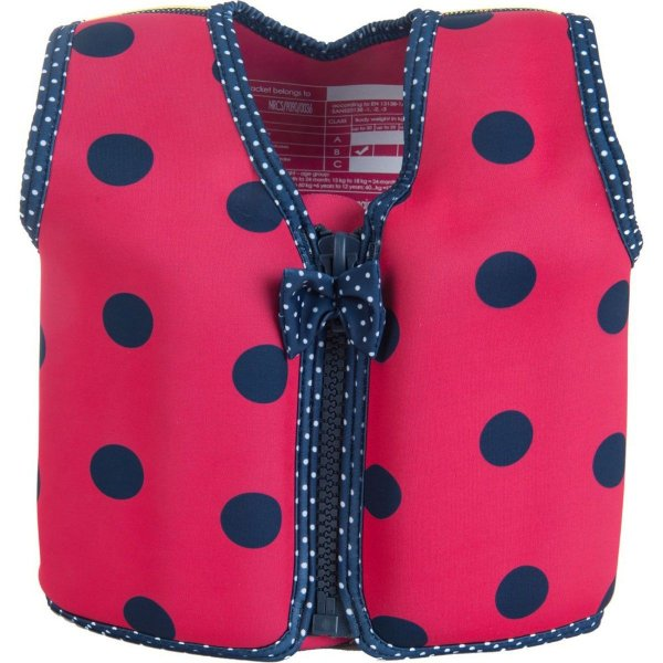 Konfidenc Σωσίβιο - γιλέκο Original Jacket Pink navy ladybird 18-36 μηνών