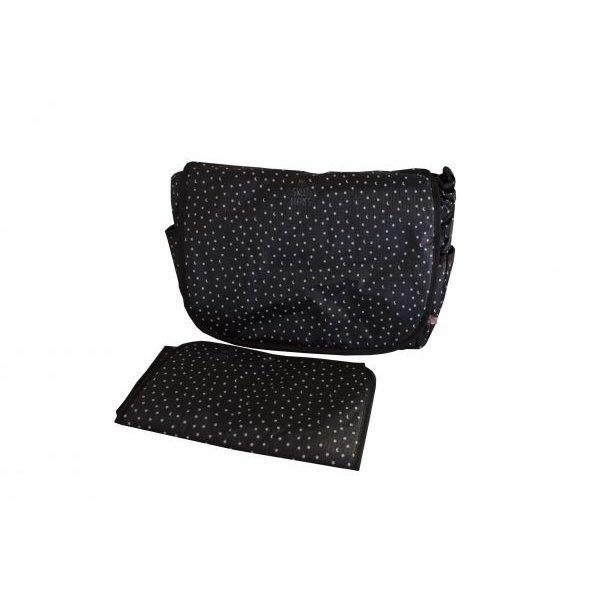 My Bag Τσάντα θηλασμού & θήκη αλλαξιέρα μαύρη