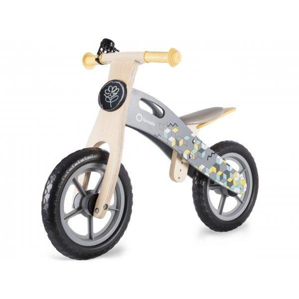 Lionelo Casper grey ξύλινο ποδήλατο ισορροπίας