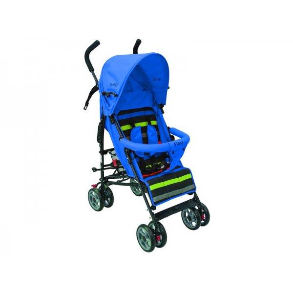 Just baby καρότσι μπαστούνι flexy Blue