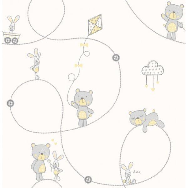Decorline ταπετσαρία τοίχου 5,3 μ2 Bear & Boo Sidewall