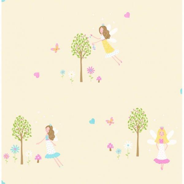Decorline ταπετσαρία τοίχου 5,3 μ2 Fairy Garden Sidewall