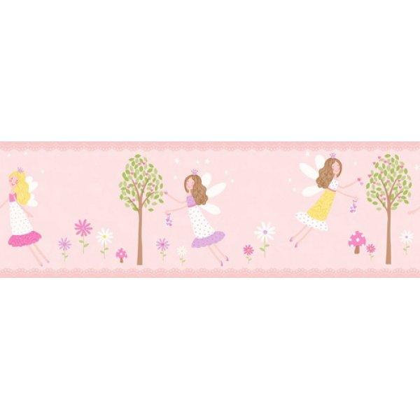 Decorline ταινία τοίχου 5Μ Fairy Garden Border