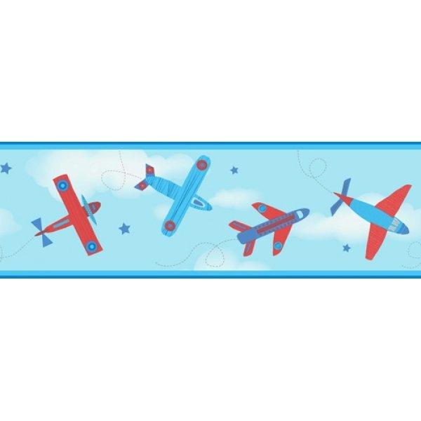 Decorline ταινία τοίχου 5Μ Planes Border