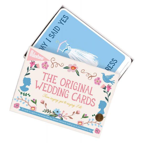 Milestone Wedding cards Φωτο-κάρτες στα αγγλικά