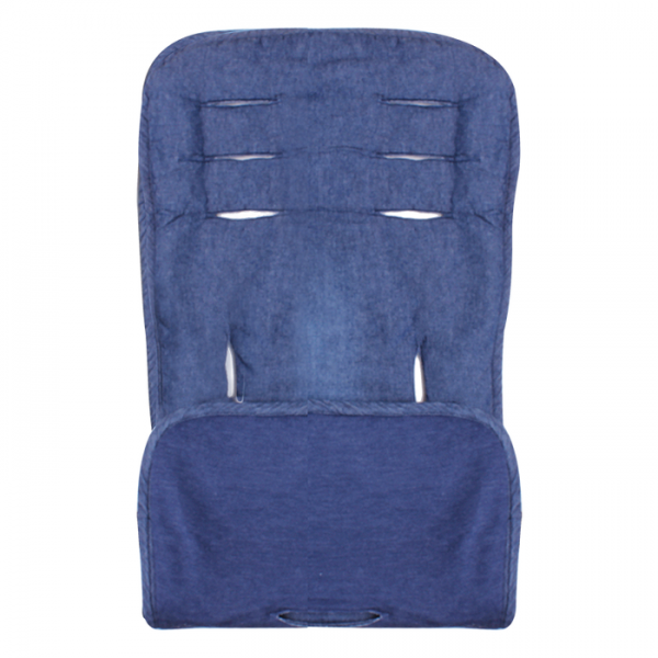 Minene κάλυμμα για το καρότσι και το κάθισμα αυτοκινήτου blue denim
