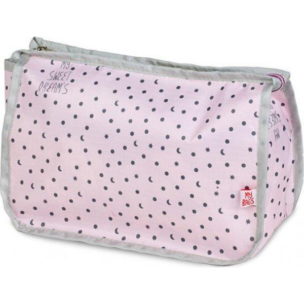 My bags Travel τσάντα νεσεσέρ ροζ