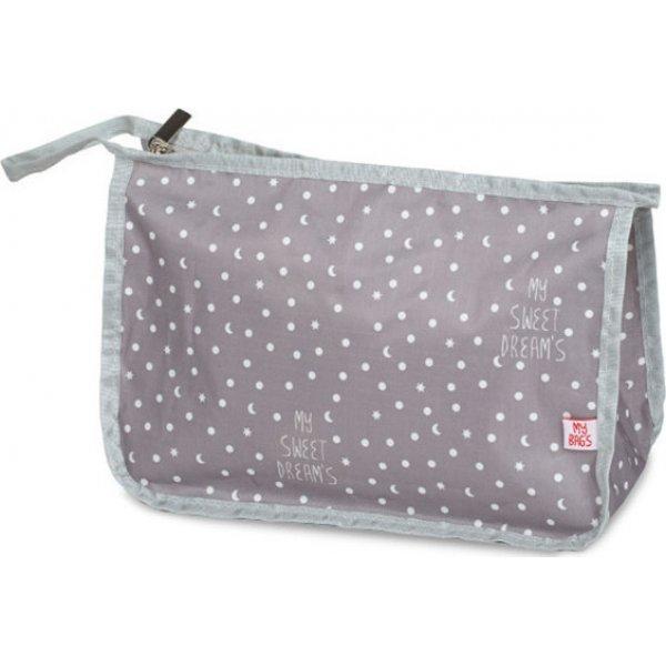 My bags Travel τσάντα νεσεσέρ γκρι
