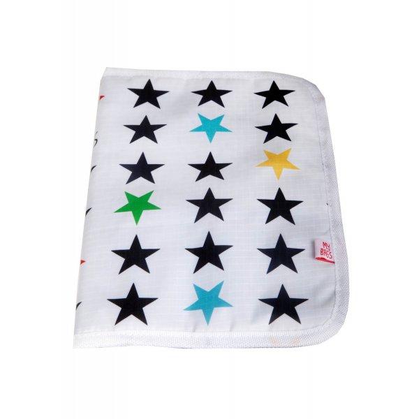 My Bags Θήκη βιβλιαρίου υγείας λευκή αστέρι