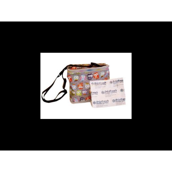 My Bag's Ισοθερμική Θήκη Για Πικνικ Κουκουβάγια Γκρι