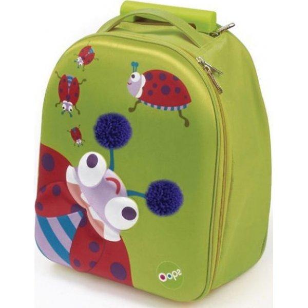 Oops 3D Easy Trolley τσαντάκι  Ladybug
