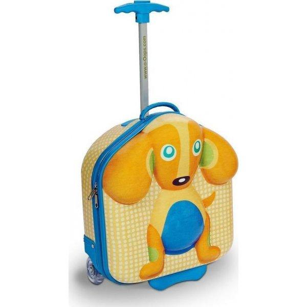 Oops Happy Trolley τσαντάκι βαλιτσάκι με ρόδες Dog