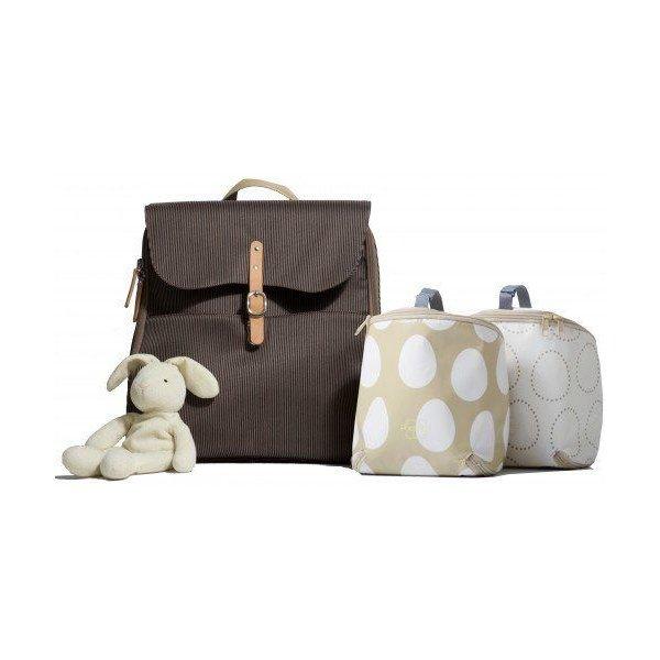 Pacapod bag τσάντα αλλαξιέρα hastings mocha