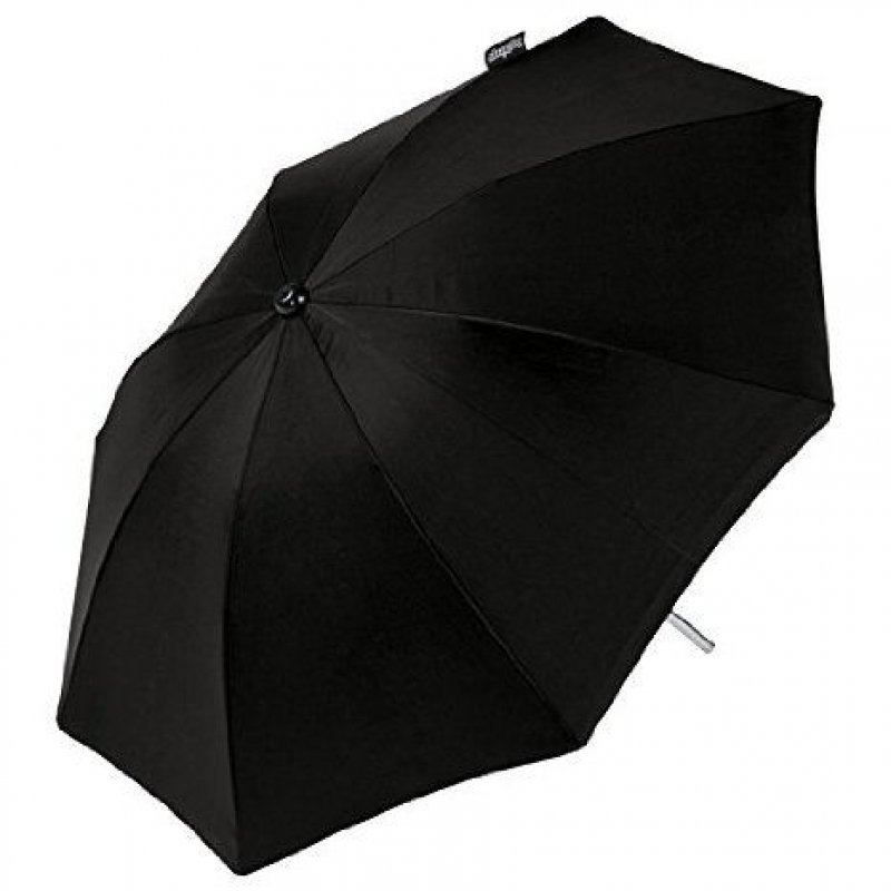 Peg Perego Αντάπτορας & ομπρέλας για καρότσι BOOK  μαύρη