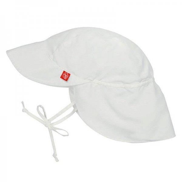 Laessig Καπέλο με αντηλιακή προστασία λευκό 0-6 m