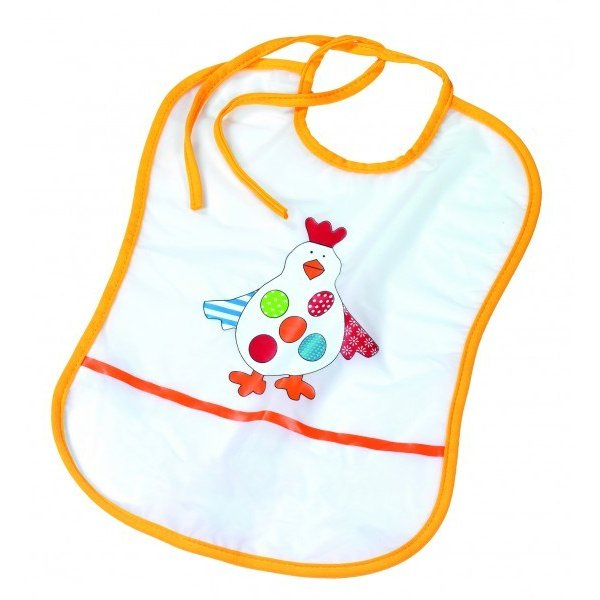 Fashy Little stars αδιάβροχη σαλιάρα  Foil bib chicken  phthalate-free