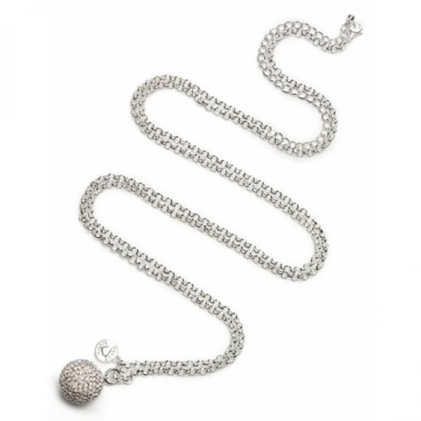 01adb703d83 Proud Mama BB Jasseron μεταλλόφωνο μενταγιόν εγκυμοσύνης silver-plated