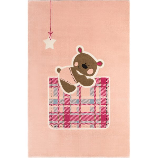Saint Clair χαλί μηχανής Teddy pink 150x200
