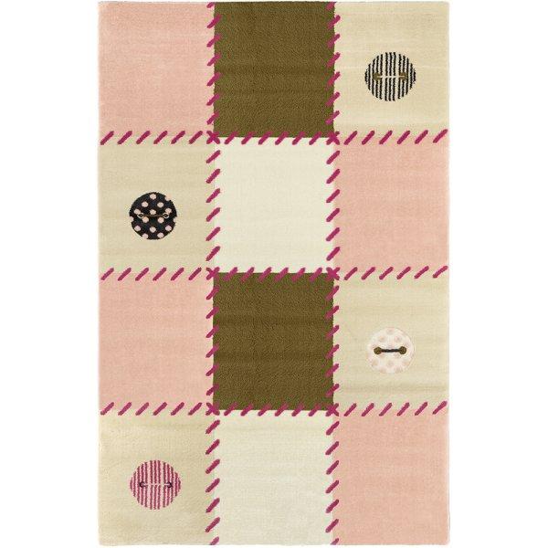 Saint Clair χαλί μηχανής Patchwork pink 150x200