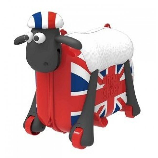 Shaun the Sheep βαλίτσα ταξιδιού, περπατούρα flag