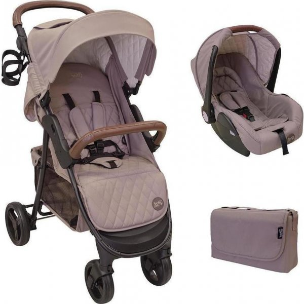JustBaby Joe πολυκαρότσι travel beige