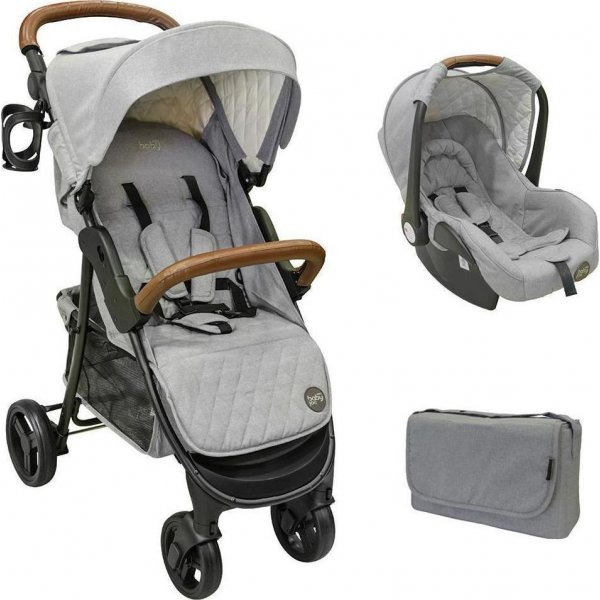 JustBaby Joe πολυκαρότσι travel grey