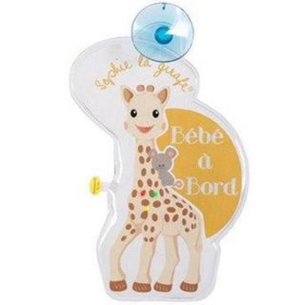 Flash baby on board Sophie la girafe (new colors) FRENCH version