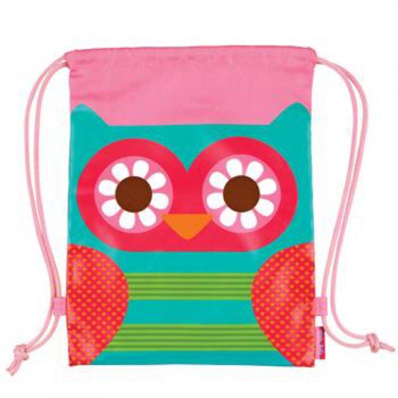 88cf8b92385 Stephen Joseph drawstring bag owl τσάντα πλάτης πουγκί
