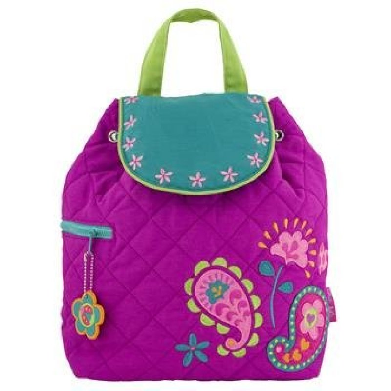 9dd372178a4 Stephen Joseph quilted backpack Paisley garden τσάντα σακίδιο