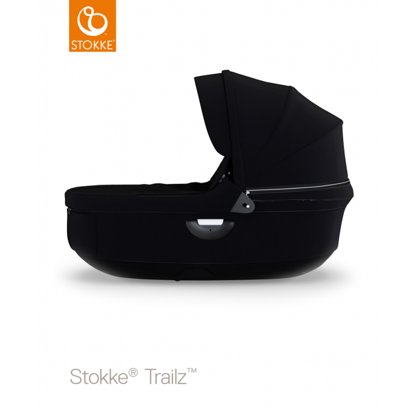 Stokke stroller black carry cot black