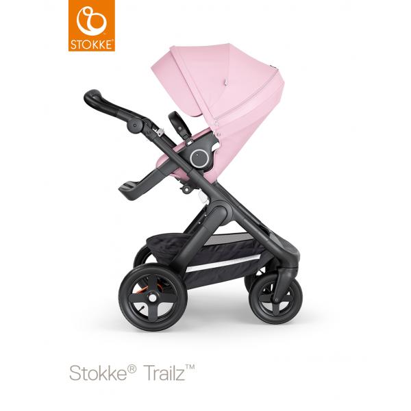 Stokke trailz παιδικό καρότσι Lotus pink black chassis και Terrain wheels